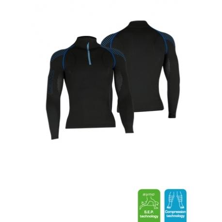 Vêtement technique homme zip manches longues 3.0 LENZ