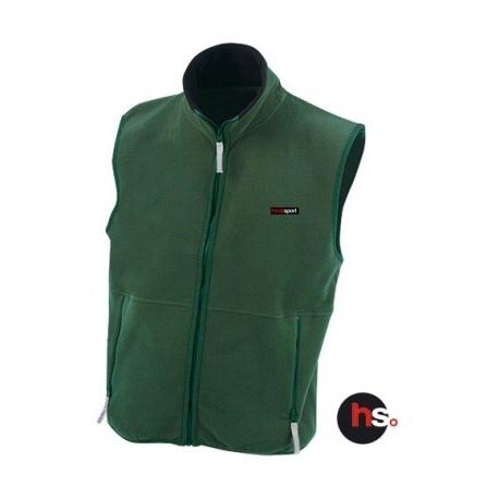 Gilet Polaire Chauffant Homme Kernok Vert