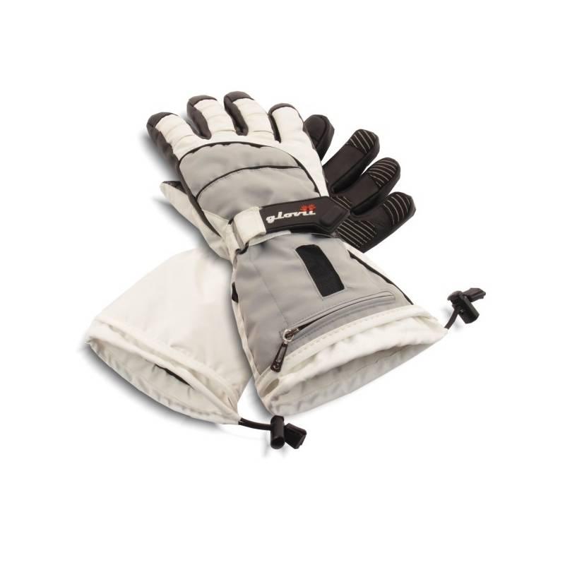 gants de ski chauffants gris glovii. Black Bedroom Furniture Sets. Home Design Ideas