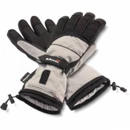 Gant Ski Chauffants GLOVII Gris Noir