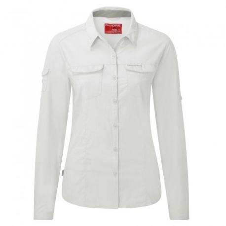 Nosilife, chemise anti moustique Adventure manches longues femme