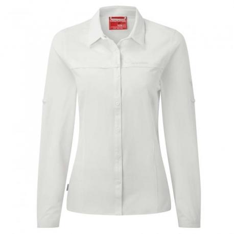 Nosilife, chemise anti moustique manches longues femme