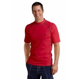 T-shirt de bain homme Coolibar à manches courtes - rouge