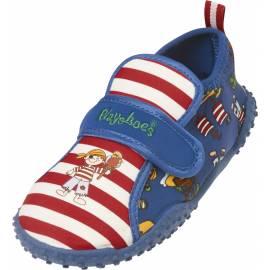 Chaussures de plage enfant Playshoes anti-UV - motif pirate