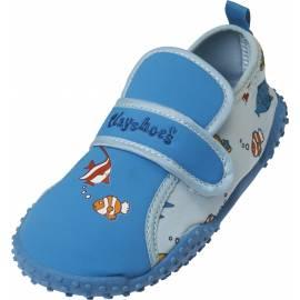 Chaussures de plage enfant Playshoes anti-UV - motif poissons