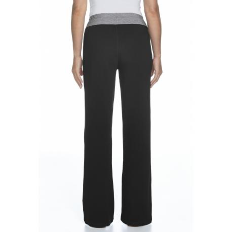 Pantalon Lakefront UPF 50+ ZnO – noir et gris chiné