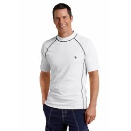 T-Shirt de bain à manches courtes pour homme, blanc