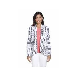 Cardigan anti-UV ZnO – blanc