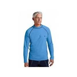T-Shirts de bain à manches longues pour homme, bleu