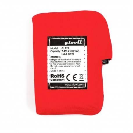 Pack batteries Gants Glovii