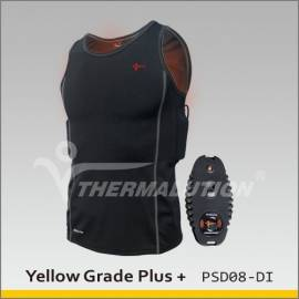 Sous vêtement chauffant pour la plongée 100m avec télécommande, Thermalution
