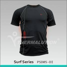 Tee-shirt chauffant pour le surf jusqu'à 15 mètres