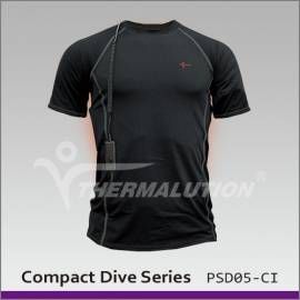 Tee-shirt chauffant pour la plongée 70m - Thermalution