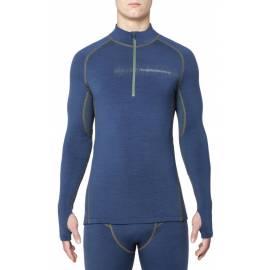 T-shirt Mérinos ARCTIC manches longues col zippé, hommes - Thermowave