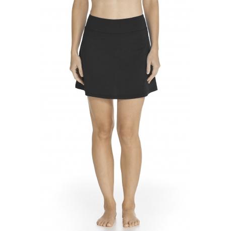 Jupe de Bain anti UV Femme - Black