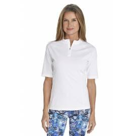 T-Shirt de bain Manches courtes Femme - White