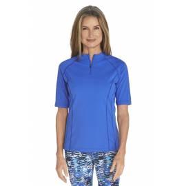 T-Shirt de bain Manches courtes Femme - Kobalt Blue