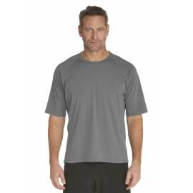 T-Shirt de bain manches courtes pour Hommes - Gris