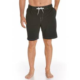 Short de bain anti Uv Homme avec poche coté, Noir
