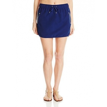 UPF 50+ Essentiel Jupe de Bain Femme - Microfibre Bleu