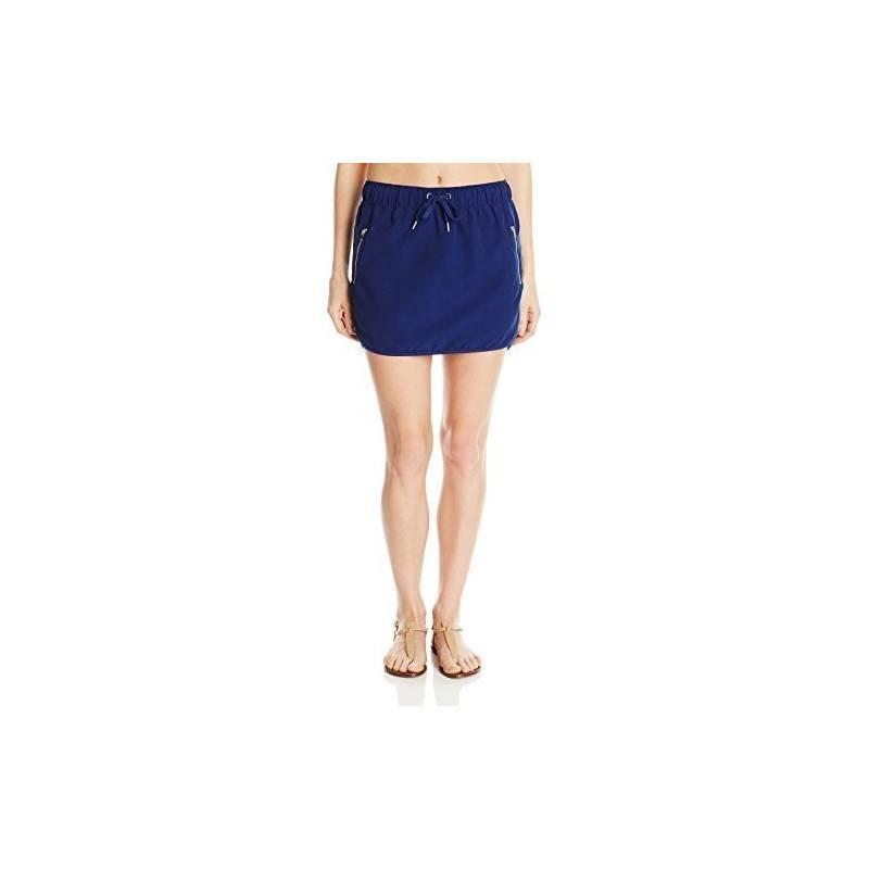 UPF 50+ Essentiel Jupe de Bain Femme Microfibre Bleu