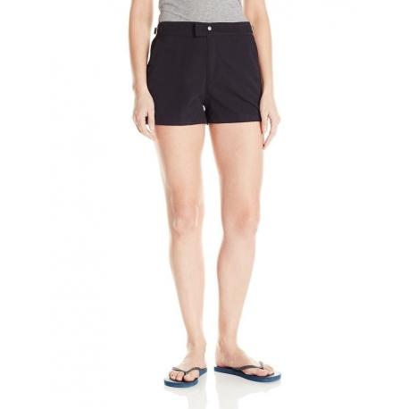 UPF 50+ Essentiel Short Microfibre Femme - Noir