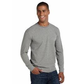 ZnO UV T-shirt Manches Longues Homme - Grey Heather