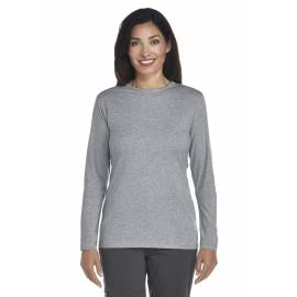 ZnO UV T-shirt Manches Longues Femme - grey