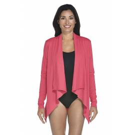 Gilet fin Femme anti UV - Coral