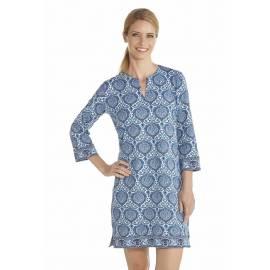 Robe/Tunique Femme Anti UV Manches 3/4 - Blue