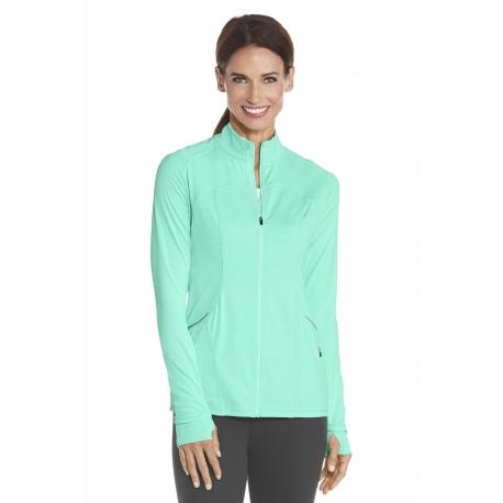 Gilet Sportswear Femme Anti UV - Aqua