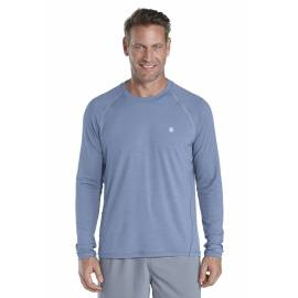 T-shirt Manches Longues Sport Anti UV - storm blue