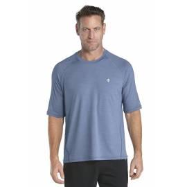 T shirt manches courtes Sportwear pour Hommes anti UV- storm blue