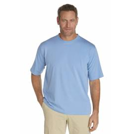 T shirt manches courtes Sportwear pour Hommes anti UV - storm blue
