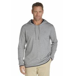 ZnO Sweat à capuche Homme - grey