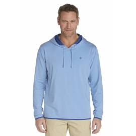 ZnO Sweat à capuche Homme - storm blue