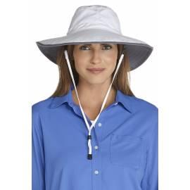 Chapeau Randonnée Anti Uv Femme - Blanc