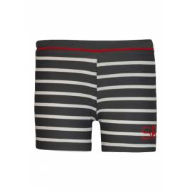 Short de plage anti Uv - Slate/ White stripe