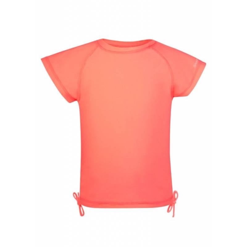 412e4f88cf75e Snapper Rock, T-shirt de bain Enfant Anti Uv , Neon Coral