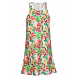 Robe de plage - Tropical Birds