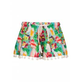Short de plage anti Uv- Tropical Birds