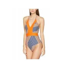 UPF 50+ Maillot de bain 1 pièce Femme - Orange