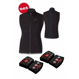 Gilet Chauffant femme 1.0 Bluetooth + Pack batteries 1800 rcB LENZ