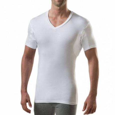 Tee Shirt Antitranspiration Homme - Col V