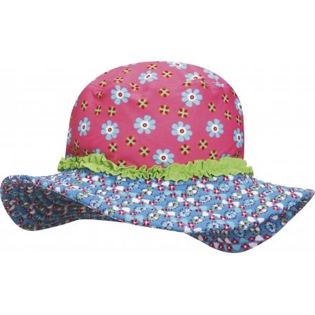 Playshoes - Chapeau de soleil Anti UV pour Enfants - Fleurs