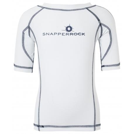 Snapper Rock - T shirt de bain manches courtes anti uv - Blanc