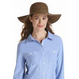 Coolibar - Chapeau Compressible pour Femme anti UV - Marron