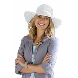 Coolibar - Chapeau pour Femmes Anti UV - Blanc