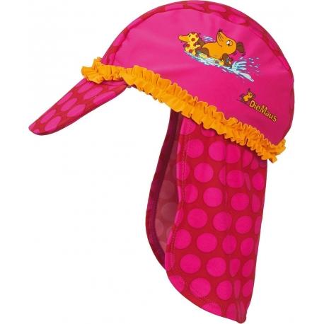 Playshoes - Casquette Anti UV pour Enfants - Rose