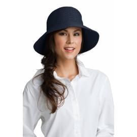 Coolibar - Chapeau Marina Anti UV pour Femme - Bleu Foncé